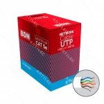 CABLE UTP CAT5E BDN 24AWG BLANCO MULTIFILAR 305M COBRE