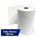 ROLLO DE PAPEL TERMICO 79MM X 80M