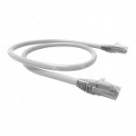 PATCH CORD U/UTP CAT6 BDN 5M BLANCO COBRE LSZH