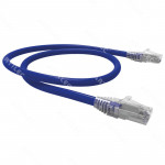 PATCH CORD U/UTP CAT6 BDN 5M AZUL COBRE LSZH