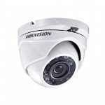 DOMO TURBO HIKVISION 720P LENTE FIJO 2.8MM IP66 IR 20M