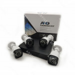 KIT DVR 4CH 1080N+4 CAM 720P+HDD 500GB
