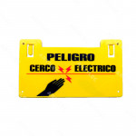 PLACA ADVERTENCIA CERCO