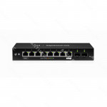 8-1000 POE/1-IN/1-OUT 2-SFP SWITCH ADM-L2 INC24V/24W OPC-RACK
