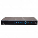 NVR 8CH 80MBPS 2HDD 8POE