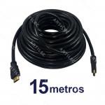 CABLE HDMI MACHO 15MT NEGRO V1.4