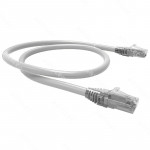 PATCH CORD U/UTP CAT6 BDN 2M BLANCO COBRE LSZH