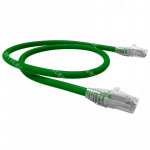 PATCH CORD U/UTP CAT6 BDN VERDE 2M COBRE LSZH ETL