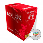 CABLE U/UTP CAT5E BDN BLANCO 305M UL