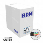 CABLE U/UTP EXTERIOR CAT5E BDN 305M COBRE