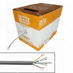 CABLE UTP LINKMADE CAT6 MULTIFILAR 305M GRIS