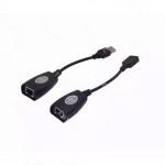 EXTENSOR USB1.1 45MT UTP-CAT5-RJ45 PASIVO A-M A-H