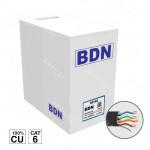 CABLE U/UTP EXTERIOR CAT6 BDN 305M COBRE