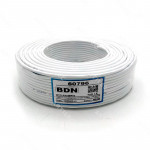 CABLE ALARMA PIN4 BDN 18 AWG BLANCO 100M COBRE
