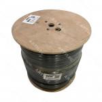 CABLE COAXIAL BDN RG11 DB CU 90% MALLA NEGRO LSZH 305MT