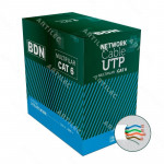 CABLE UTP CAT6 BDN 23AWG BLANCO MULTIFILAR 305M COBRE
