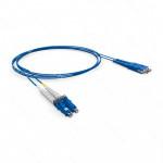 PATCH CORD OPTICO DUPLEX OM3 LC-UPC/LC-UPC 1.5M-LSZH-ACQUA (A-B)