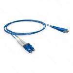 PATCH CORD OPTICO DUPLEX OM3 LC-UPC/LC-UPC 2.5M-LSZH-ACQUA (A-B)
