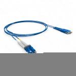 PATCH CORD OPTICO DUPLEX OM3 LC-UPC/LC-UPC 5.0M-LSZH-ACQUA (A-B)