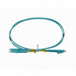 1MT LC-LC OM3 MULTIMODO MM DUPLEX JUMPER FIBRA 2MM 50/125UM