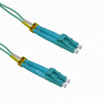 0,5MT LC-LC OM3 MULTIMODO MM DUPLEX JUMPER FIBRA 2MM 50/125UM