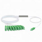 1X16 SC/APC DIVISOR PLC P/GEPON/GPON 3MT 150+150CM 0,9MM 1260-1650NM
