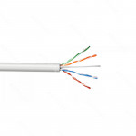 UTP RFUEGO CAT6 INTERIOR BLANCO 305MT 23AWG 600MHZ CAJA CABLE