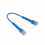 AZUL 10CM ACCESORIO CABLE RJ45 0,1MT UC-PATCH-RJ45-BL