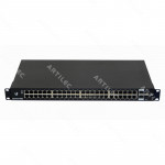 48-1000 2-SFP+ 2-SFP RS232-RJ45 SWITCH ADMIN RACK 220VAC/25V