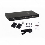 12-SFP+10G 4-10G CONSOLE-RJ45-RS232 SWITCH RACK ADMIN AC/DC