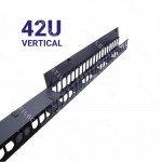 ORDENADOR VERTICAL PLASTICO/METAL 42U