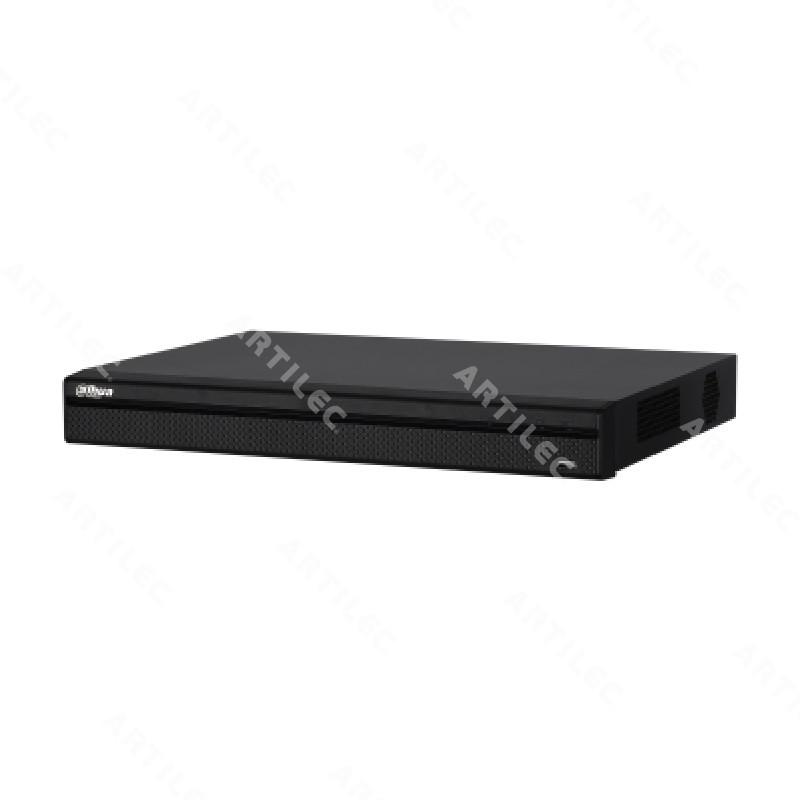DVR DAHUA FHD 16CH HDCVI +8IP 2HDD IVS 1U H.265+