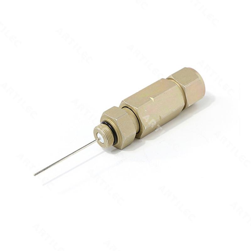 CONECTOR HARDLINE PIN 2 PIEZAS CABLE QR540