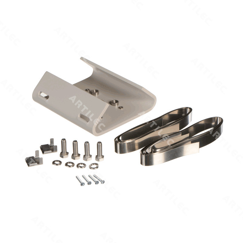 POLE MOUNT ADAPTER WITH STAINLESS STEEL STRAPS