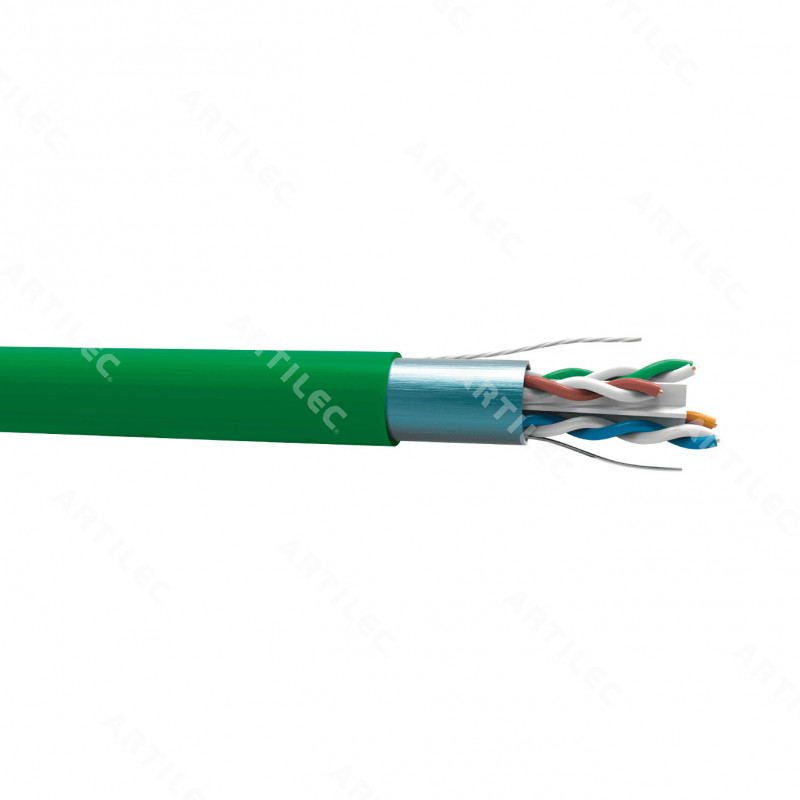 CABLE GIGALAN AUGMENTED F/UTP CAT6A 23AWG DCA-LSZH