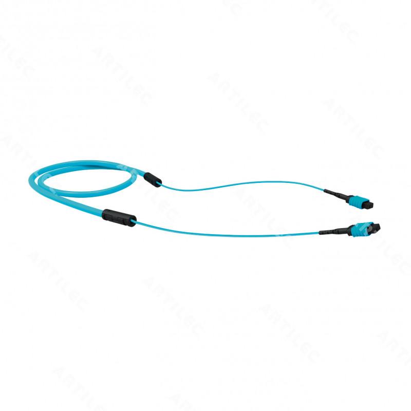 CABLE TRONCAL CONECTORIZADO 12F OM4 MPO/MPO 8.0M LSZH TIPO B
