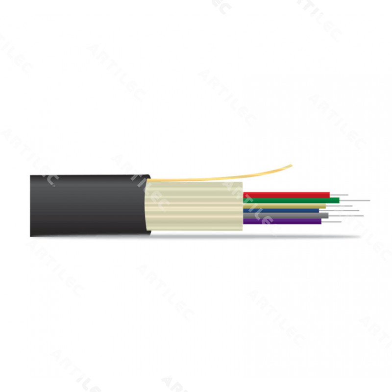 FIBRA OPTICA FIBER-LAN INT/OUT 12F MM OM4 LSZH
