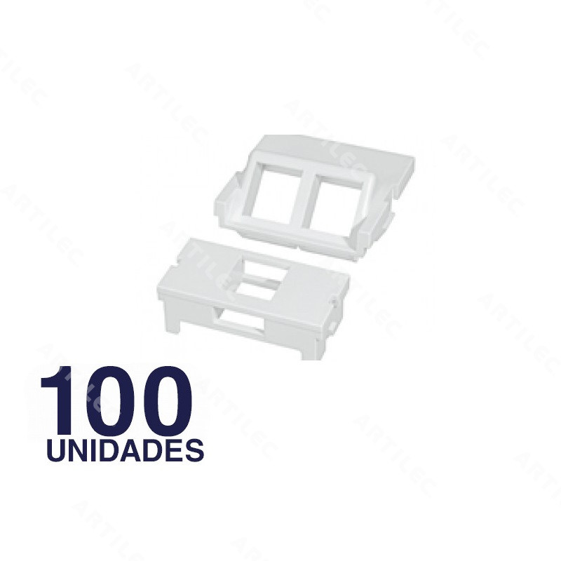 ADAPTADOR 1P MAGIC - BLANCO (100 PIEZAS)
