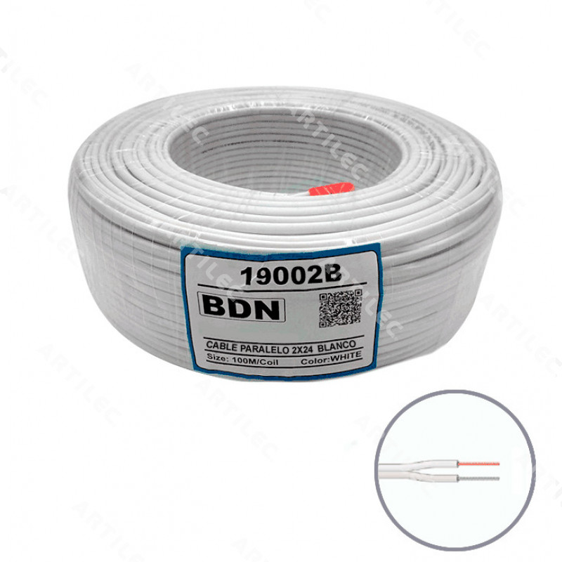 CABLE PARALELO BLANCO BDN 2X24