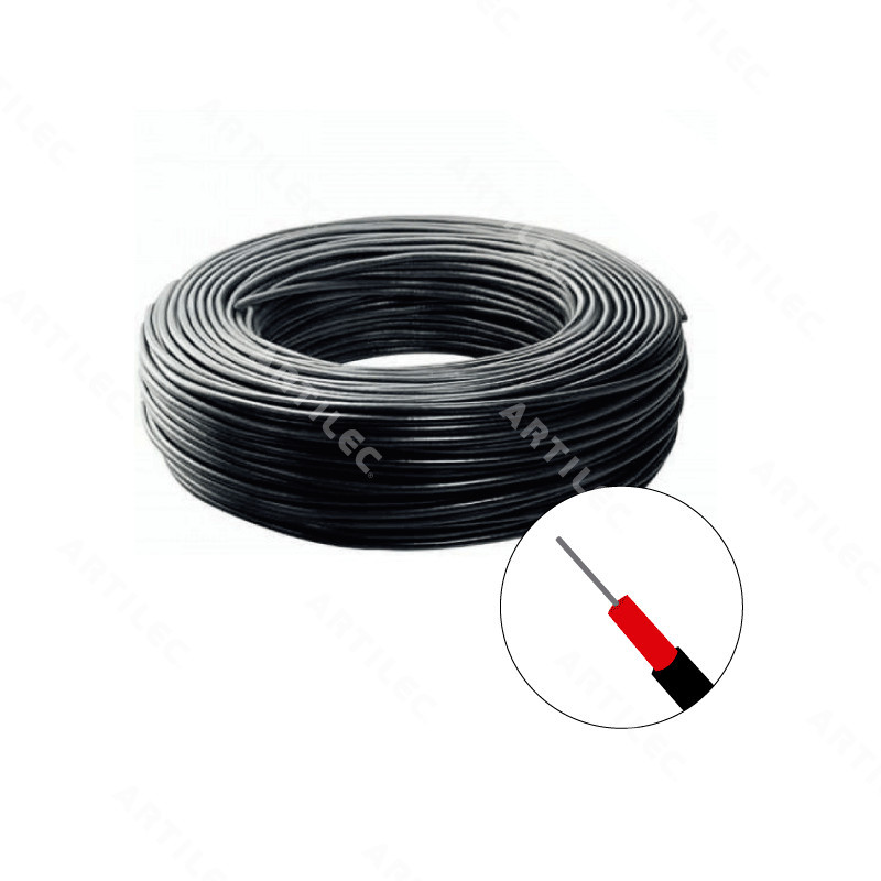 CABLE DOBLE AISLACION PARA CERCO ELECTRICO 1.6MM X50MT