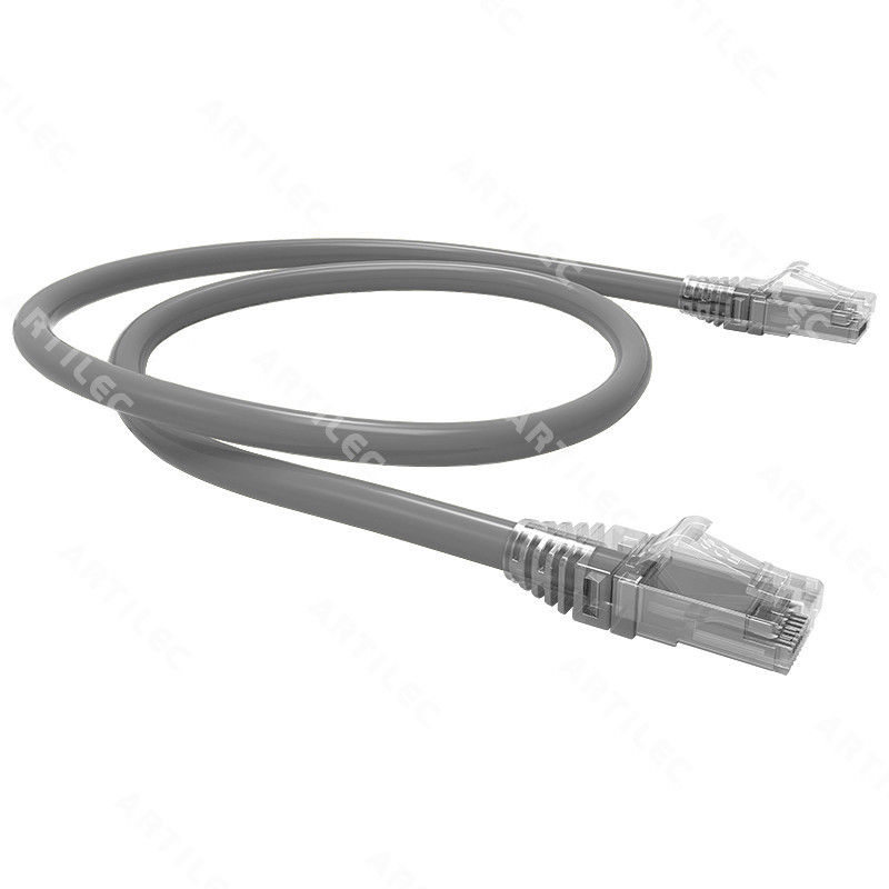 PATCH CORD U/UTP CAT6 BDN GRIS 1M COBRE LSZH ETL