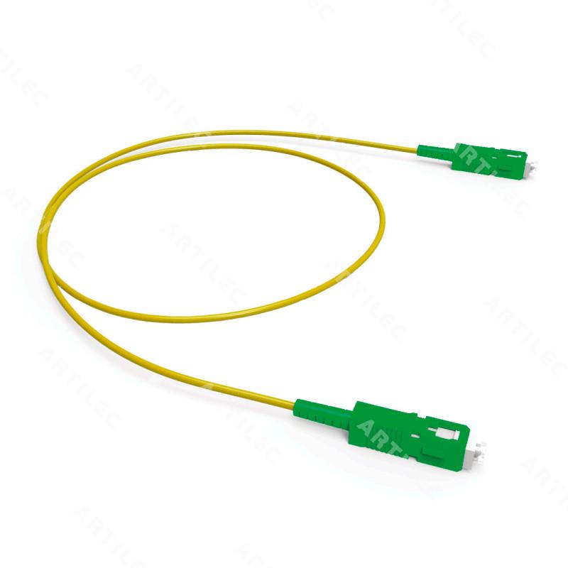 JUMPER SIMPLEX SM G-652D SC-APC/SC-APC 1.5M AMARILLO