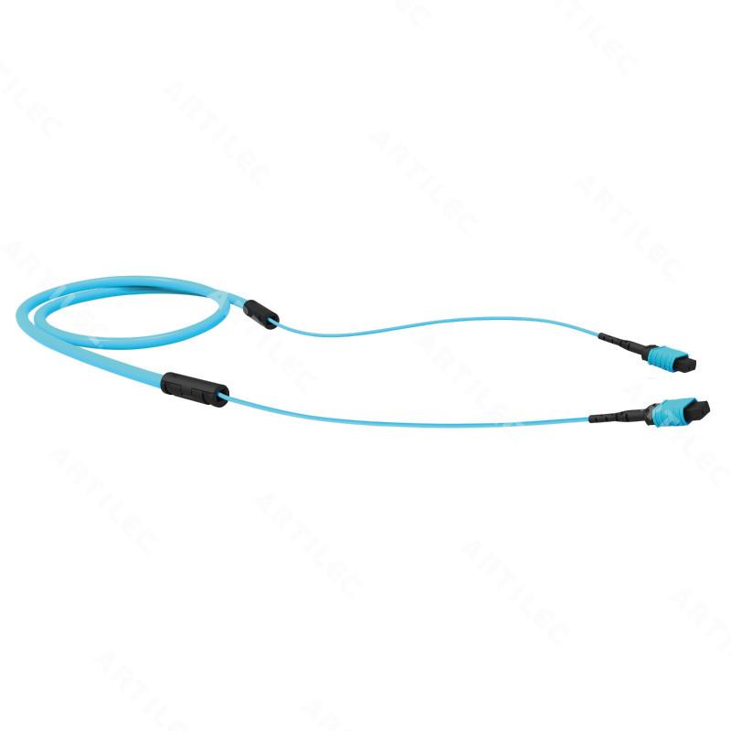 CABLE TRONCAL 12F OM4 MPO/MPO 125.0M LSZH ACQUA TIPO B